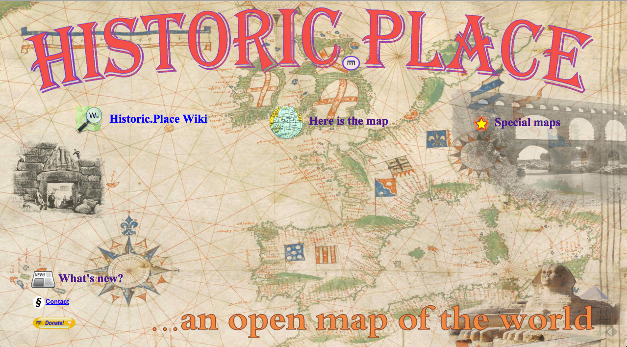 Historic.places map