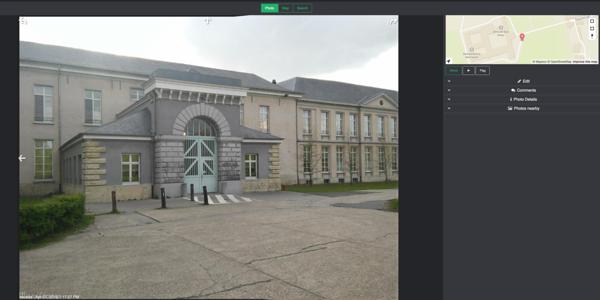 Mapillary UI